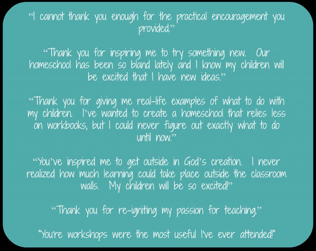 Cindy West's speaking testimonials