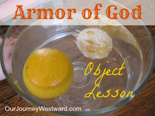 Armor of God Object Lesson | Our Journey Westward