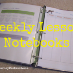 Weekly Lesson Notebooks