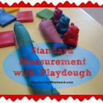 Standard Measurement with Playdough