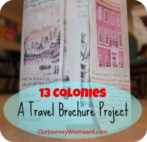 Thirteen Colonies Travel Brochure