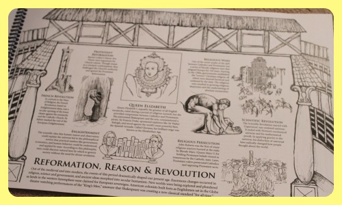 Western Civilization Timelline Coloring Book