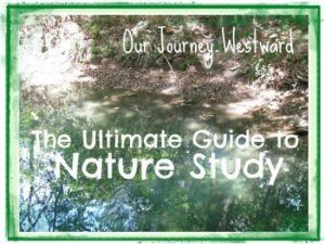 The Ultimate Guide to Nature Study from Cindy at Our Journey Westward