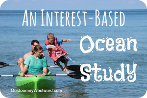 After a trip to the ocean, Cindy's 1st grader wanted to learn more.  Here's how they followed the trail of interest-based learning