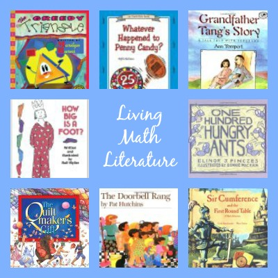 A great list of living literature for math lessons