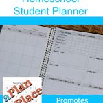 This student planner from APlanInPlace.net is customizable to meet your needs!