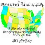 Around the USA Elementary Homeschool Unit Study