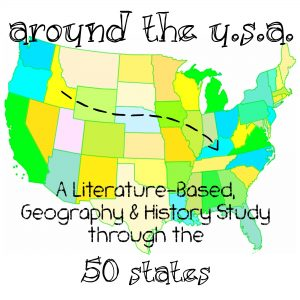 Around the USA Elementary Homeschool Unit Study