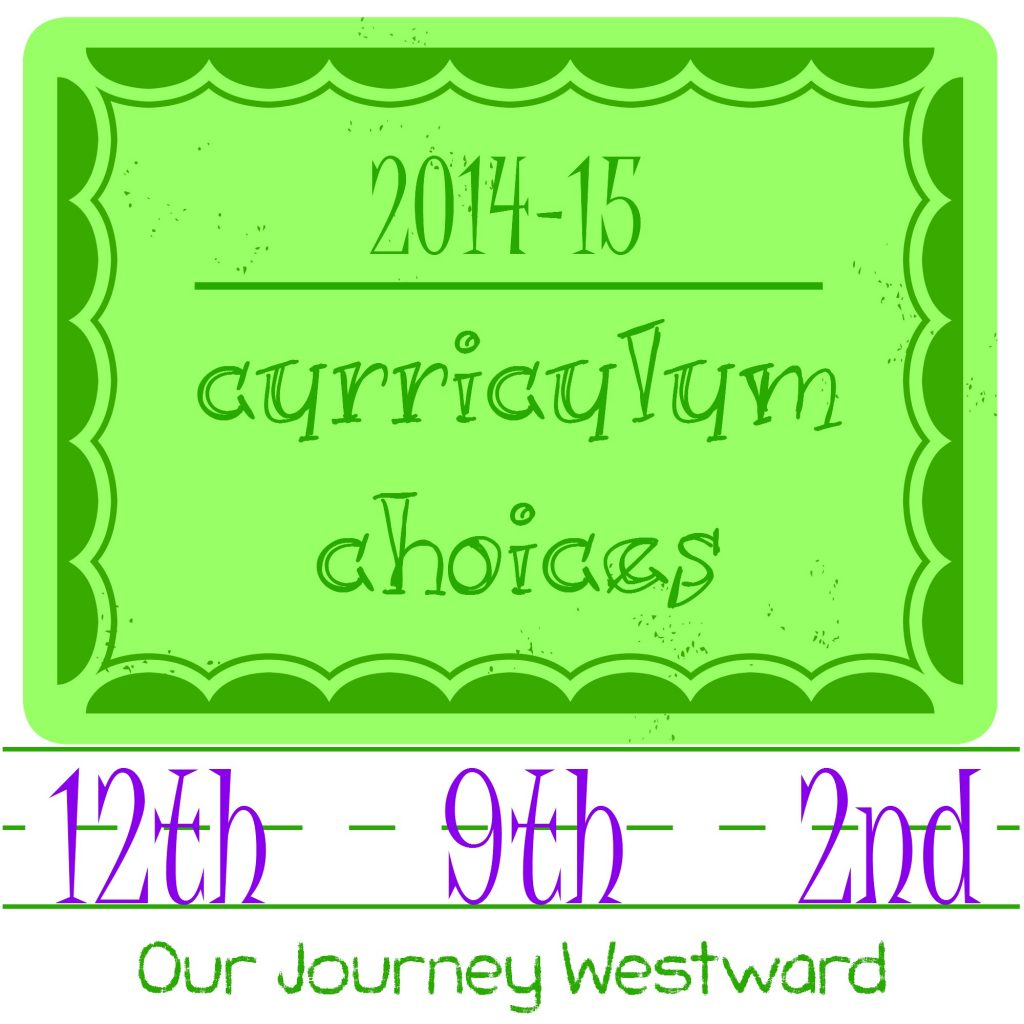 Homeschool curriculum choices from Cindy of Our Journey Westward.  See what high school and elementary look like in an eclectic Charlotte Mason homeschool.