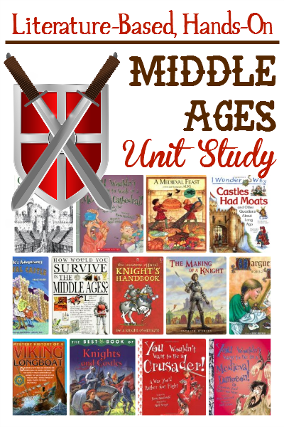 Our elementary medieval unit study was packed full of fun and learning.  Literature, resources and great project ideas included.