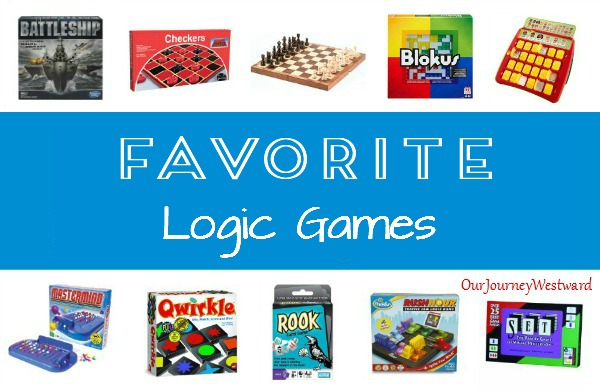 Logic games are one of the best ways to practice logical thinking in a fun and simple way.  My kids beg for logic!