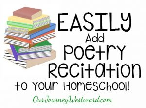Poetry recitation can be very easy! It's also a great activity to improve auditory attention, processing and memory!