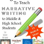 Using picture books is a great way to teach the narrative writing style to older students!