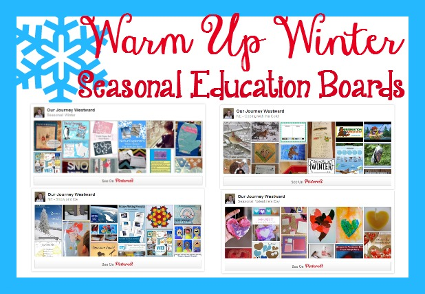Winter homeschool lessons can be fun and educational with the creative ideas on these Pinterest boards.