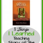 Great tips about using Story of the World successfully in your homeschool
