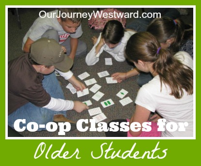 Co-op Classes for Older Students