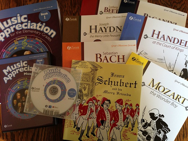 Zeezok's Music Appreciation program gives me everything I need to make composer/music study happen in our Charlotte Mason homeschool.