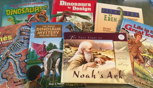 More than just a dinosaur unit study - covers floods, fossils and the ice age, too!