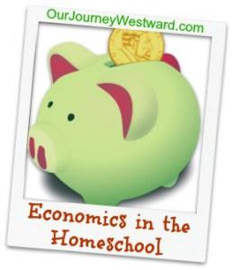 Economics is easy to teach in the homeschool!