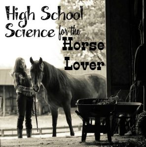 A high school science plan with a bent toward equine studies
