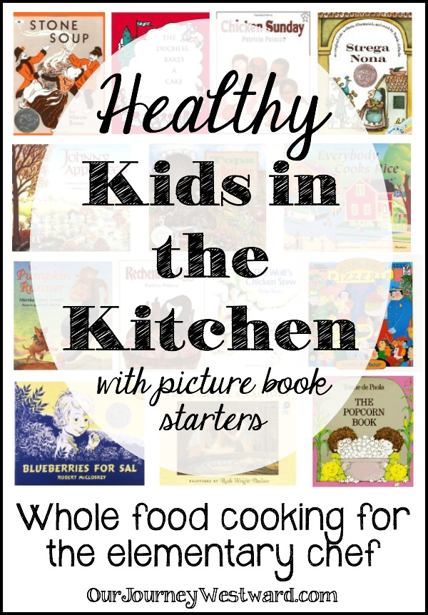 My little chef loves to cook. I'm on a mission to help him learn to cook healthy, whole food recipes. Books are an extra-special ingredient to inspire kids in the kitchen!
