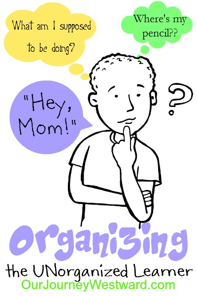 Do you have an unorganized learner?  Me, too.