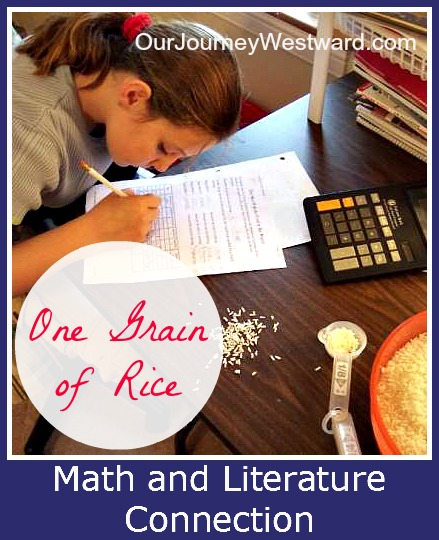 One Grain of Rice Math Activity - Our Journey Westward