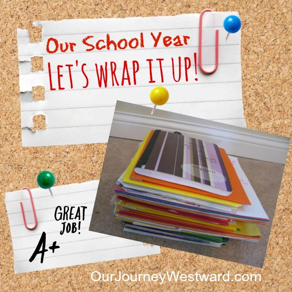 Here's a peek at Cindy West's plan for packing up her school year.