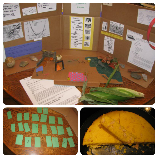 Native American Projects from Our Journey Westward