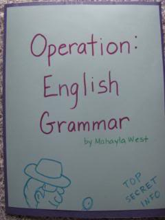 Operation: English Grammar Lapbook