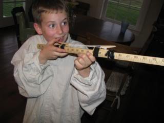 Caleb's Latest Invention