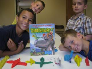 Boys and Dinosaurs
