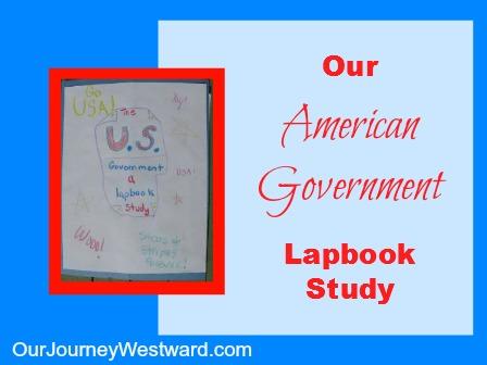 U.S. Government Lapbook Unit Study