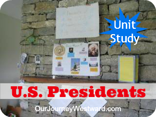 United States Presidents Study | Our Journey Westward