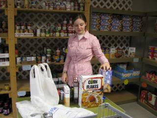 Service at the Food Pantry