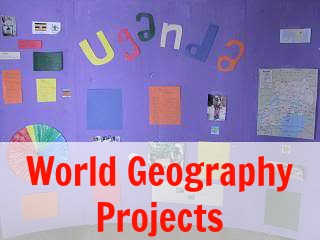 World Geography Projects | Our Journey Westward