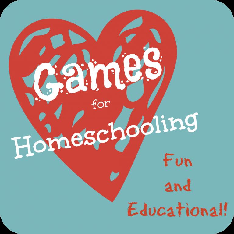 Favorite Games for Homeschooling