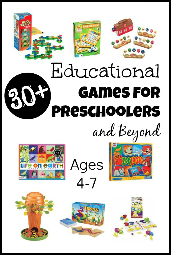 These educational games for preschoolers will keep your little ones learning AND having tons of fun.
