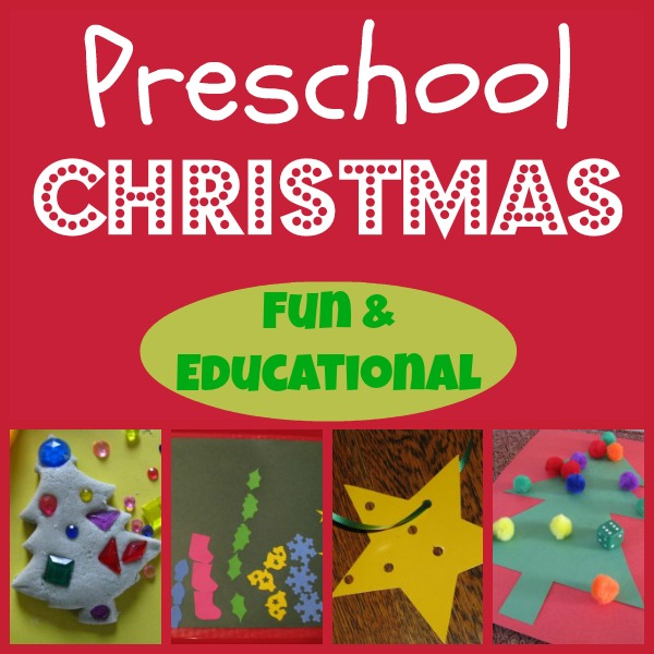 Preschool Christmas Ideas that are both fun and educational