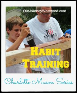 Charlotte Mason Habit Training