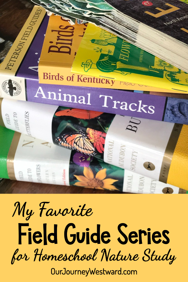 There are lots of great field guides out there, but one series is my top pick for homeschooling!