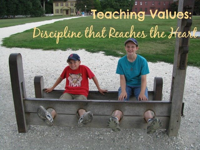 Teaching Values through Discipline that Reaches the Heart – Day 5