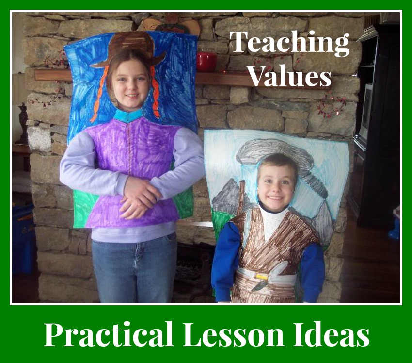 These practical character building lessons do double duty as academic lessons, too!