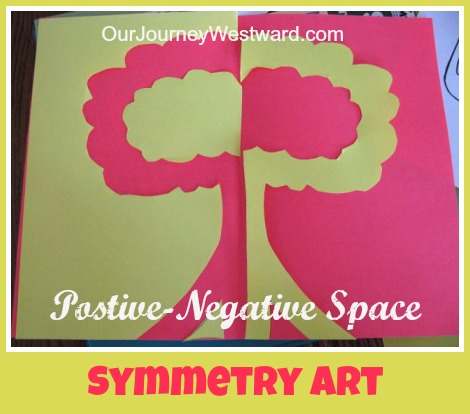 Positive Negative Symmetry Art