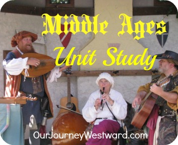 Middle Ages Unit Study: hands-on, literature-based, project ideas