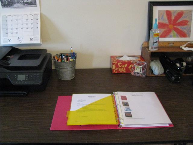 Homeschool Planning Table