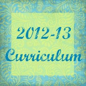 2012-13 Curriculum and Schedule