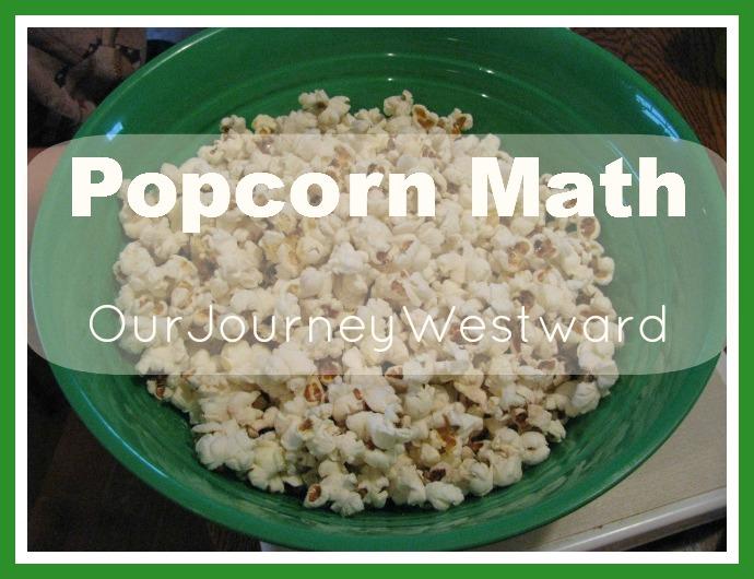 Popcorn Math Activity