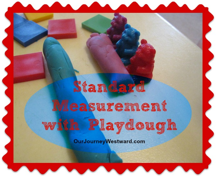 Standard Measurement with Play Dough