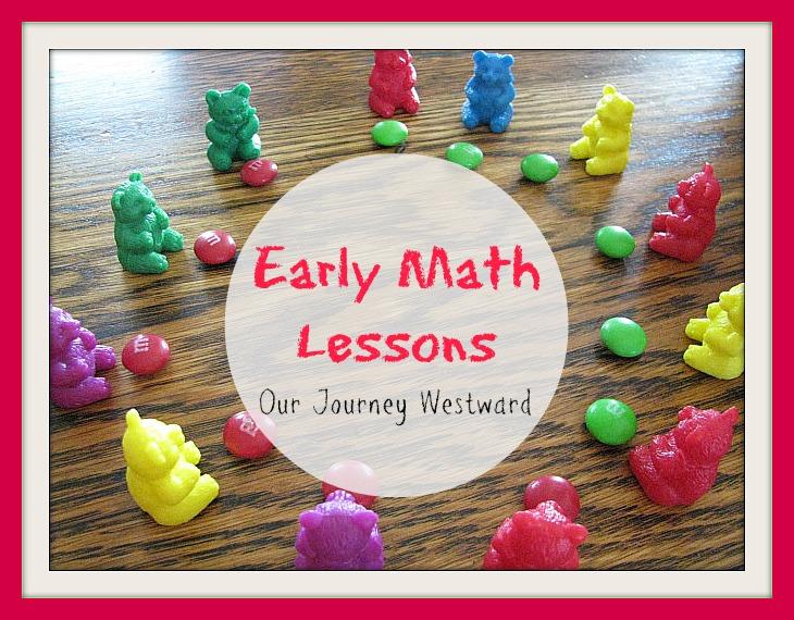 Early Math Lesson Ideas